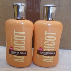 New Bath & Body Works Signature Vanillas Apricot