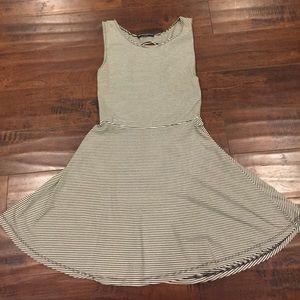 Brandy stripe dress one size
