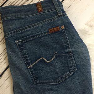 7FAM Kimmie Bootcut Jeans Medium Wash
