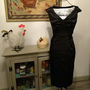 Size small vintage inspired little black dress