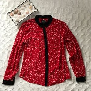 Maeve Anthropologie long sleeve button down 2