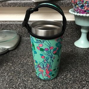 Lilly Pulitzer balloon print yeti 20 oz cozy