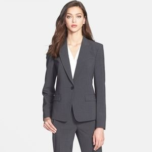 Work Suit Set Gabe B Blazer / Max C pants Charcoal