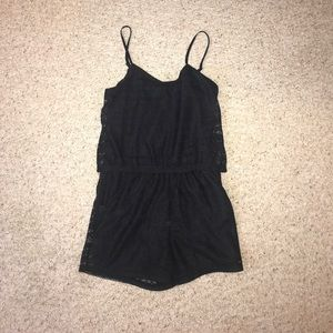 Pants - Black romper in like new condition