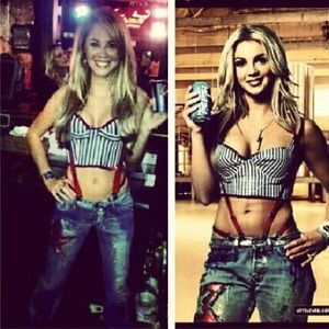 Other Britney Spears Pepsi Era Costume Sz Sm Poshmark