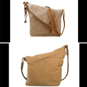 cross body canvas bag