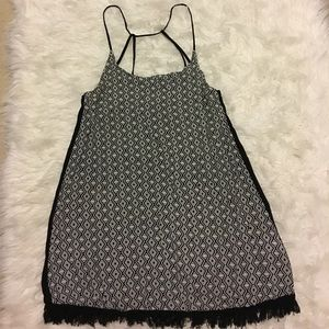 Hurley Black & White Dress Size Medium