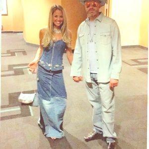 Classic Britney & JT denim outfit sz small