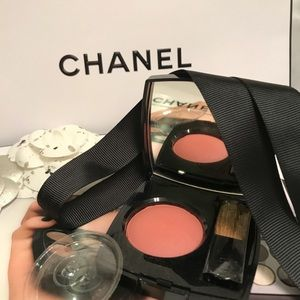 Chanel Blush in flame