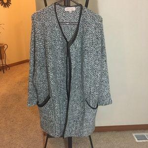 Philosophy wool/acrylic cardigan size large