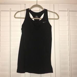 Black Nike women's tank top