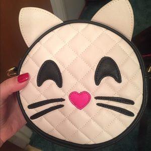 Betsey johnson cat crossbody bag NWT
