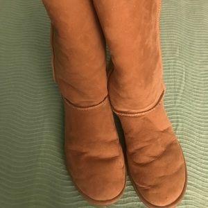 High Beige Ugg Boots