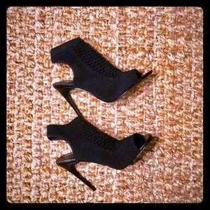 Zara-open goes black booties