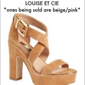Louise Et Cie Chunky Block Heels