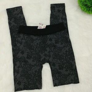 PINK REPUBLIC cozy fleece lined leggings