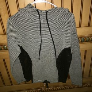 LF hoodie with mesh