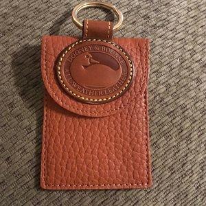 New Dooney & Bourke Keychain Credit Card Holder