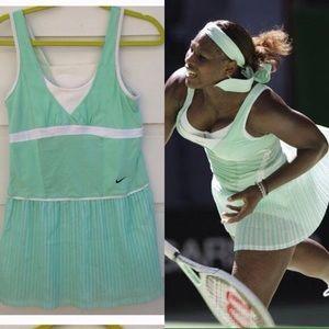 Serena Williams mint tennis dress