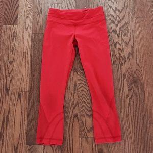 Lululemon Crop Red Pants