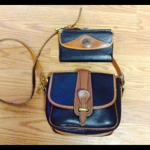 Dooney & Bourke leather crossbody and wallet