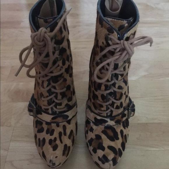 Steve Madden Shoes | Leopard Pony Hair
