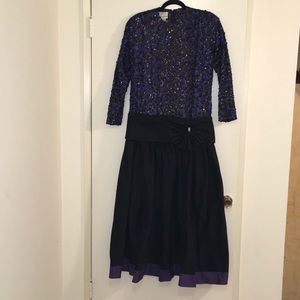 Amazing 80s Inspired Dress