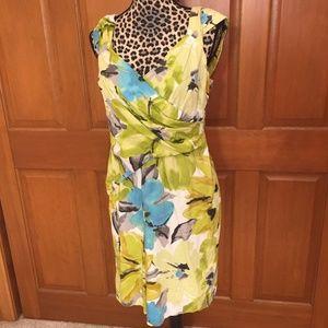 Liz Claiborne Green Dress 14