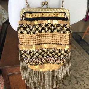 Free People reversible cross body purse. NWOT