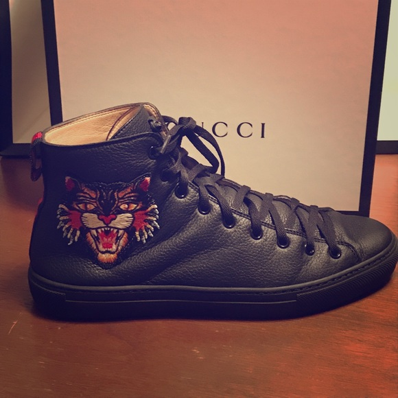 Gucci Shoes   Gucci Angry Cat Hitop