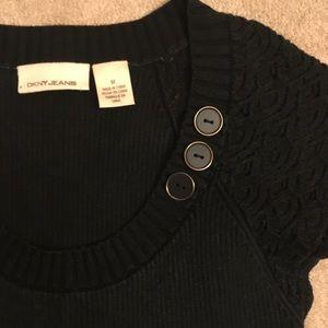 DKNY black top, sz M
