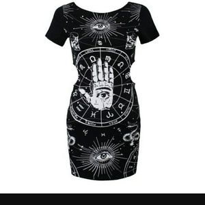 Killstar peekaboo sides dress XL