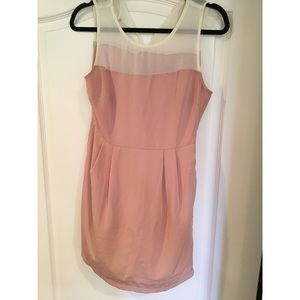 XXI Muted Pink Sheath Dress