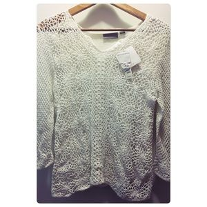 White Croft and barrow sweater
