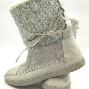 Madden Girl - Pull on booties off-white