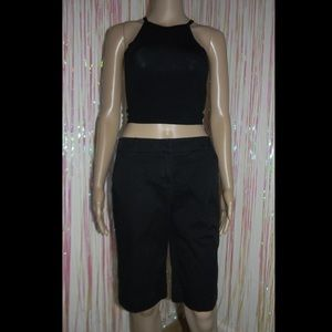 Black Bermuda Shorts 561