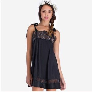 For Love and Lemons black dress size XS
