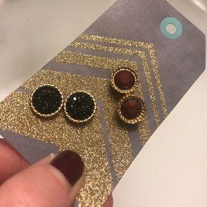 Stud Earrings - 2 Pair Bundle!