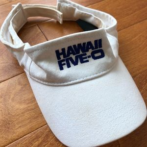 Authentic Hawai'i Five-0 Swag Visor - as is