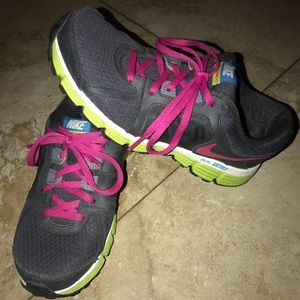 Used youth Nike athletic shoes