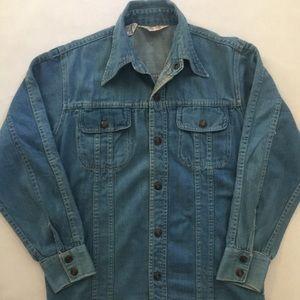 Jean Light Button Down Jacket - Size M