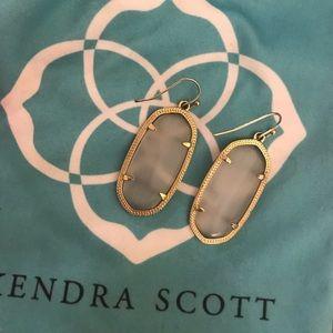 Kendra Scott • Elle Earrings in Slate Gray