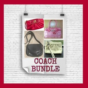 50% OFF 4••PC AUTHENTIC COACH BUNDLE  W/ free gift