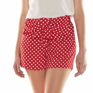 LC Disney Minnie Mouse shorts Large