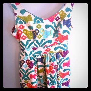 Judith March - Colorful Aztec Bird Mini Dress