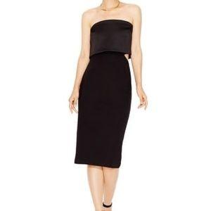 Rachel Roy Black Cutout Dress