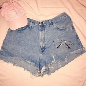 SIZE 36 High waisted shorts