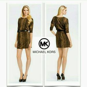 Michael Kors Small Petite Leapord Dress