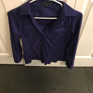 Express x-small blouse. Beautiful deep purple!