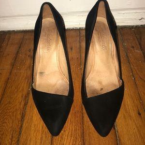 Madewell Mira Black Heels